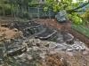 Stone Wall Terrace Garden